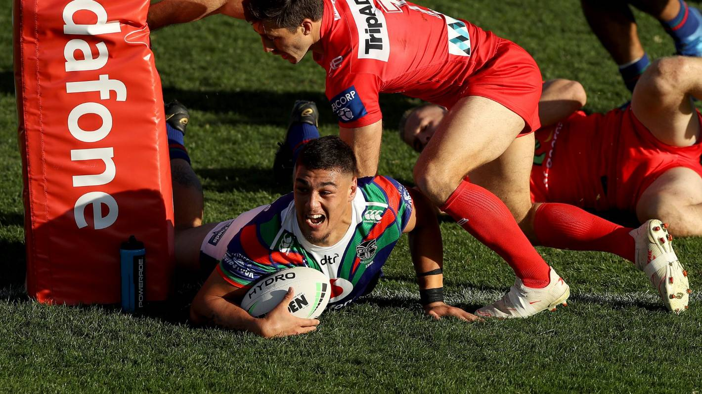 NRL: Warriors stun Dragons with close to perfect performance