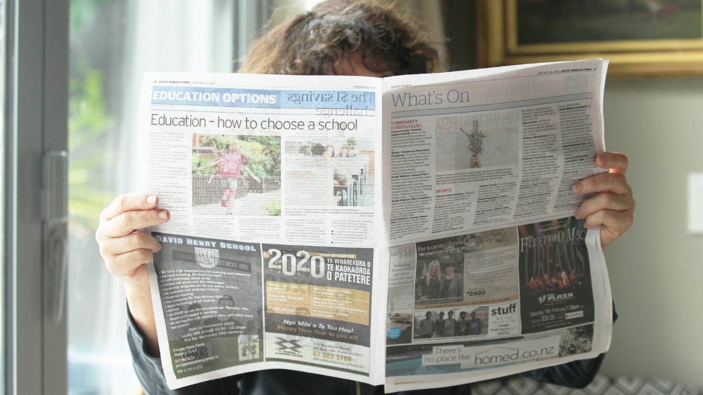 Big advertisers channelled more spending towards newspapers in April