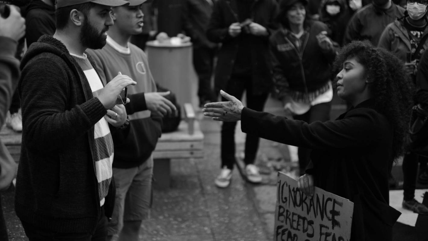 Auckland teacher wore MAGA hat to Black Lives Matter march