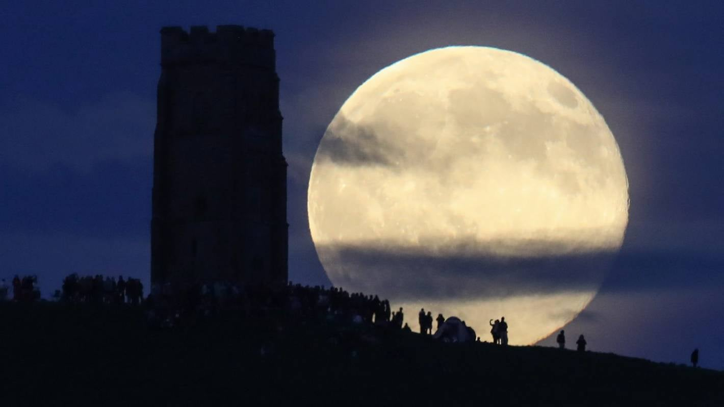 Saturday's 'Strawberry Moon' marks start of eclipse season