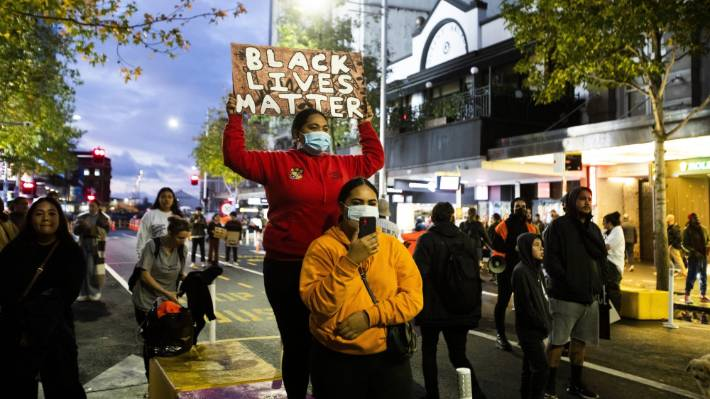 Protests in solidarity with the Black Lives Matter movement have erupted all over the world, including in Auckland last week.