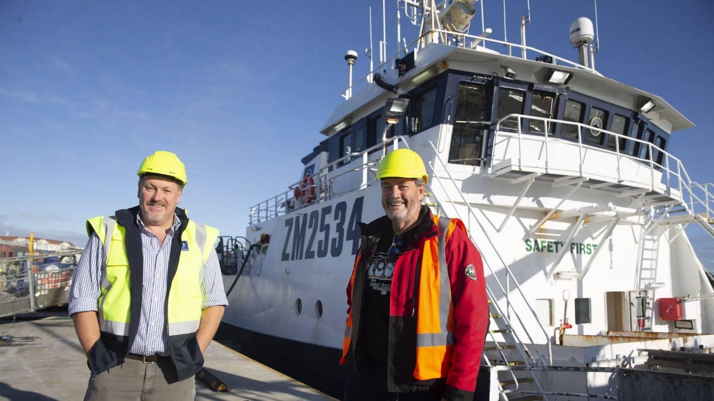 50-day mission to retrieve Kiwi fishermen underway