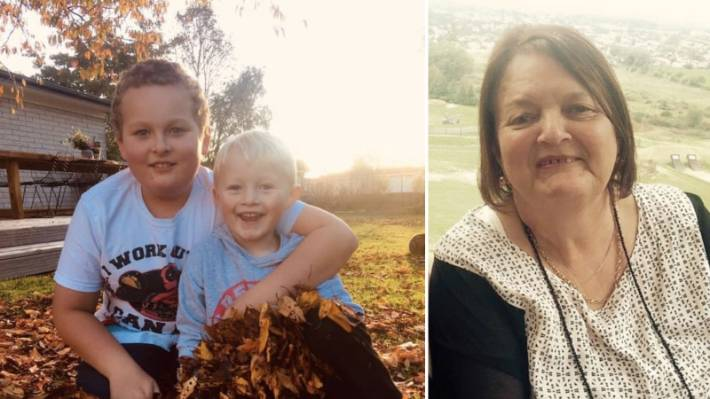 Luka and JJ Sirett, aged 10 and 5, and their grandmother Bev Hiscox died after a vehicle crashed into a pond, in the central North Island town of Raetihi.