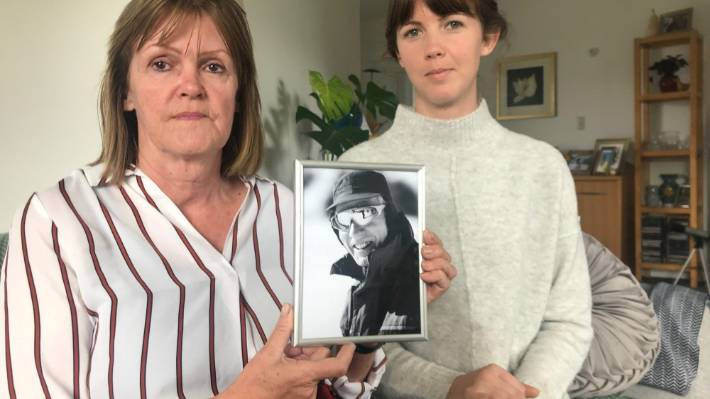 Sheryn and Rachel Scanlan of Masterton can't understand why Immigration NZ won't let husband and father Charles Scanlan into the country.