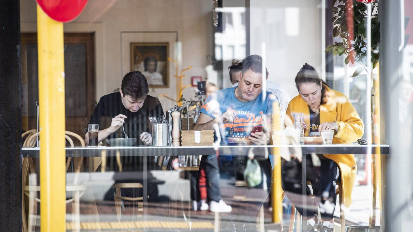 Spending recovery continues, but hospitality sector struggles