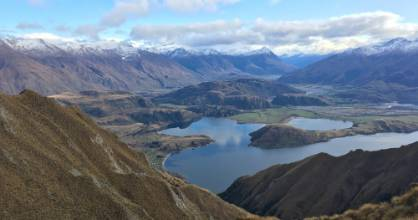 Respondents to a survey on commercial flights between Christchurch and Wanaka, pictured, said they would use the service ...