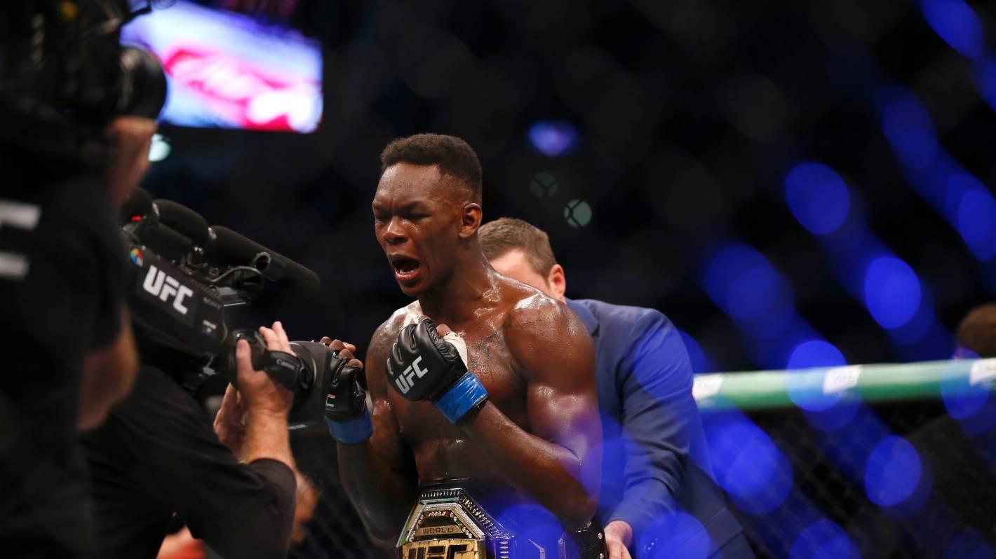 Israel Adesanya turns into UFC cover boy, replacing Conor McGregor
