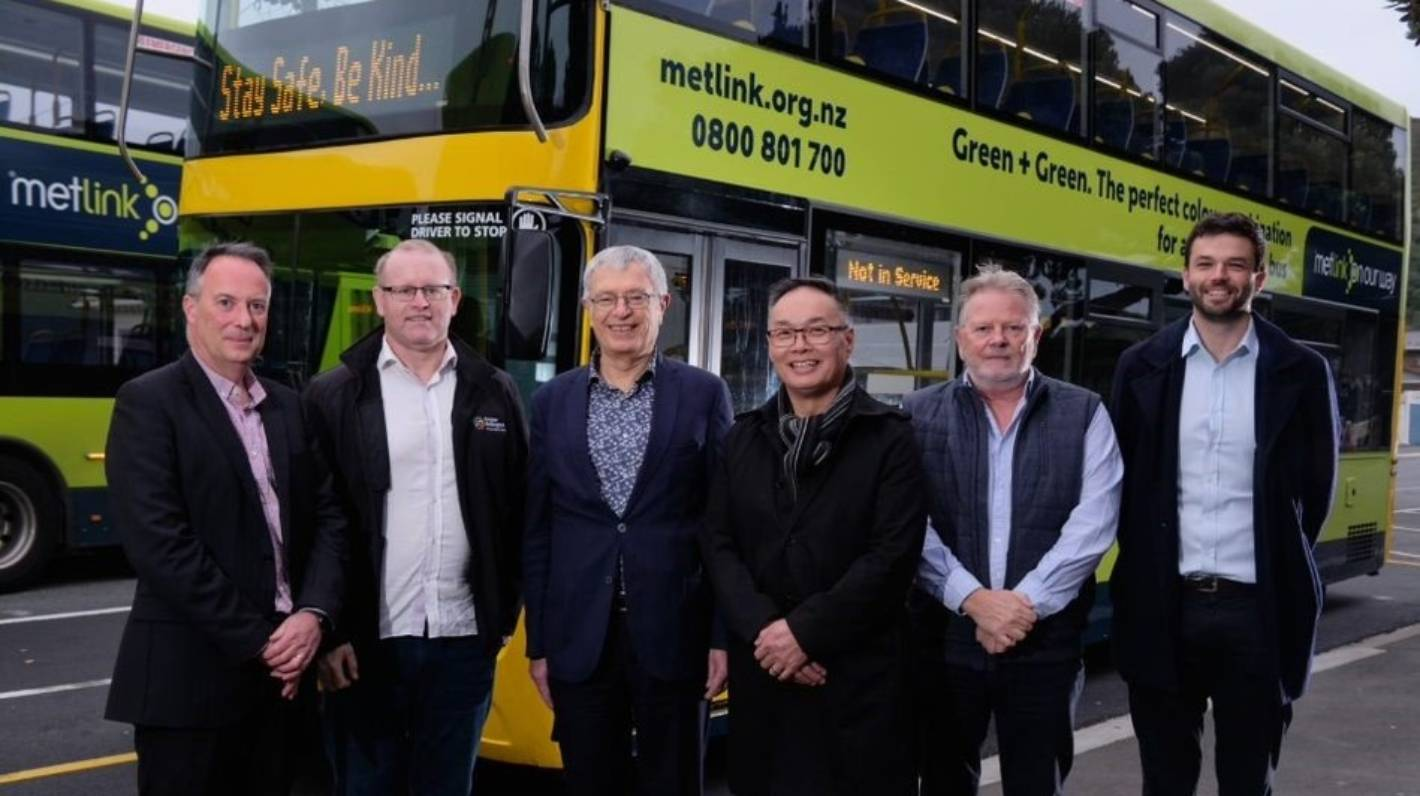 Wellington will have fully electric bus fleet by 2027