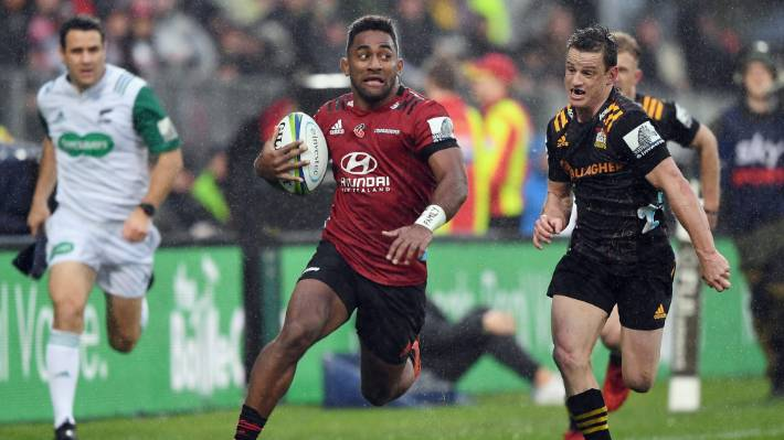 Crusaders wing Sevu Reece has left Waikato and will play for Tasman in this year's Mitre 10 Cup.