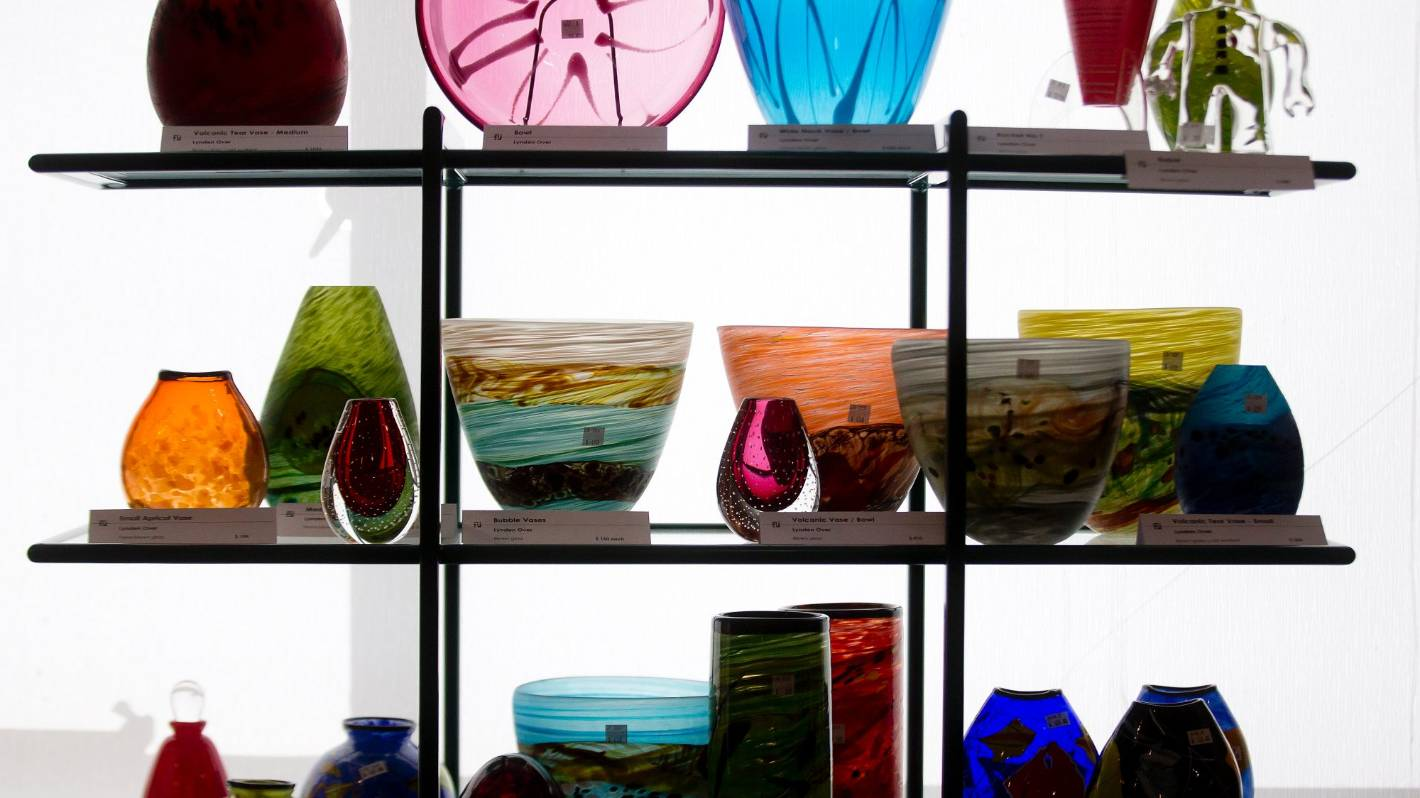 Colourful handmade homewares are hot to collect right now