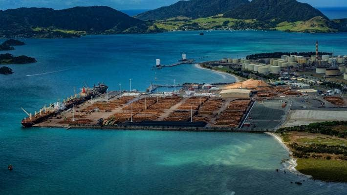 Northport has focused on log exports until now, but it wants to have a bigger involvement in the North Island supply chain. (File photo)