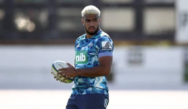 Blues standout Hoskins Sotutu — a man in demand and All Black in waiting