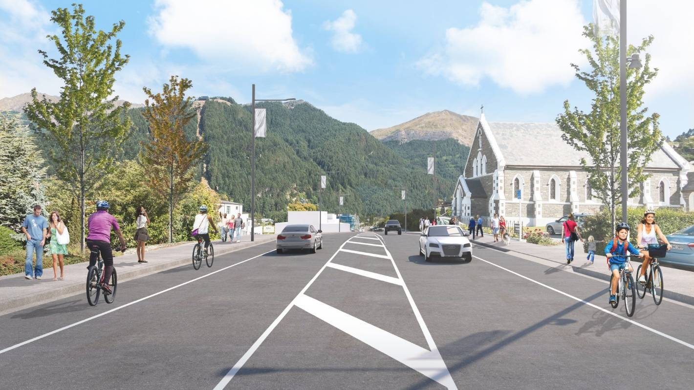Queenstown's $85 million facelift to include CBD upgrade, ring road