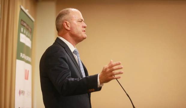 National leader Todd Muller attacks Government's record but avoids naming PM