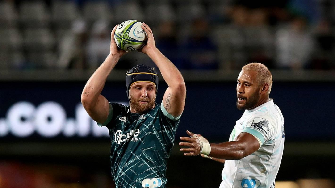 Super Rugby Aotearoa: Highlanders lose lock Josh Dickson for the season