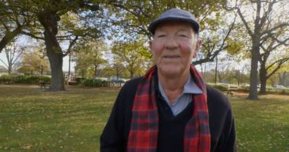 Paddy Grant went to Hagley College as an adult in the 1970s and went on to be a GP for more than 40 years.