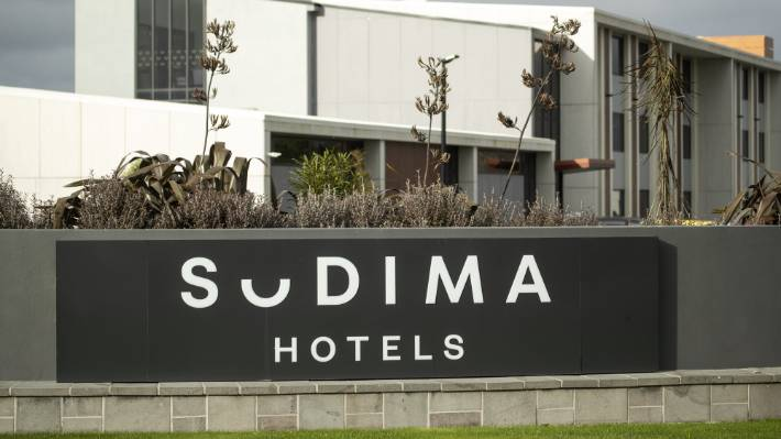 The Sudima Hotel in Christchurch.