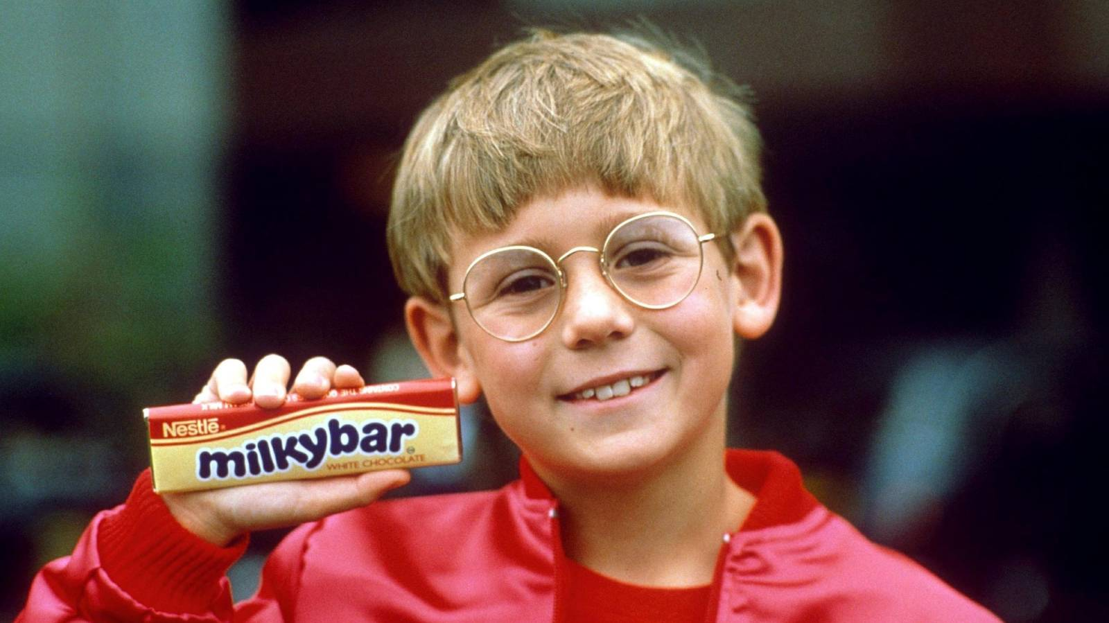 So you want to be the Milkybar kid?