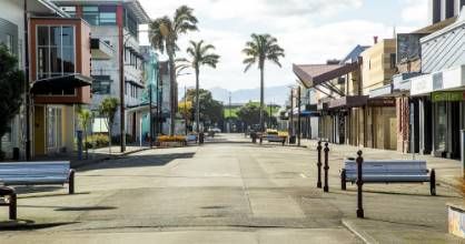 Our streets may not look like this any more – King St, Palmerston North, during lockdown – but we're not yet out of the ...