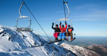 Thousands flocked to Mt. Hutt on Friday as 'epic' conditions mixed a good dumping of snow with bright sunshine.