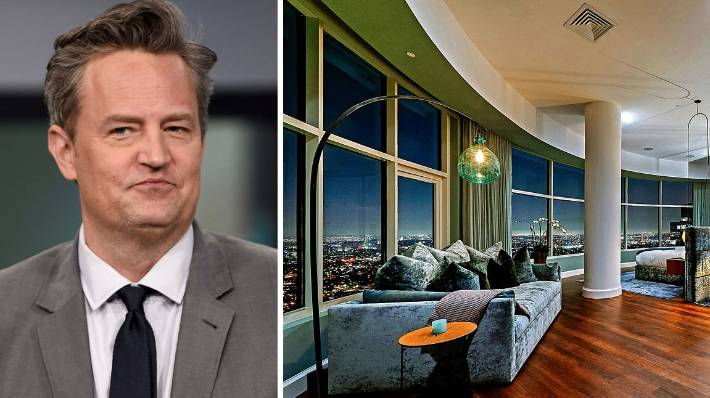 Matthew Perry has relisted his luxurious LA home at a lower price.