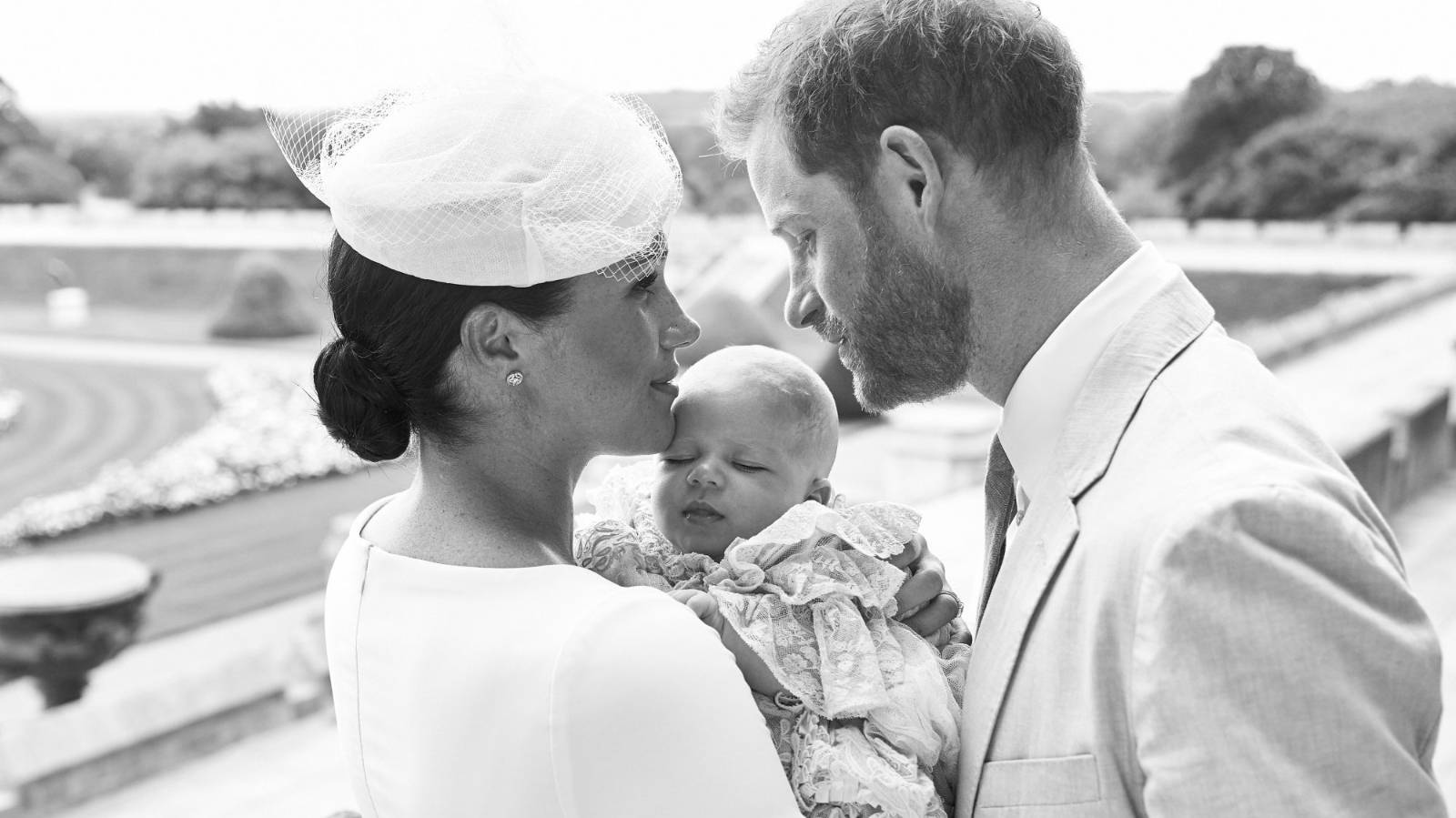 Archie's christening 'tense' for the royal family