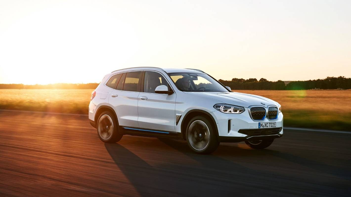 BMW launches all-electric i3X SUV online