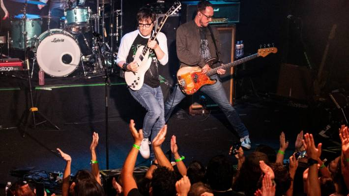 Rivers Cuomo and Scott Shriner of Weezer made the announcement via social media today.