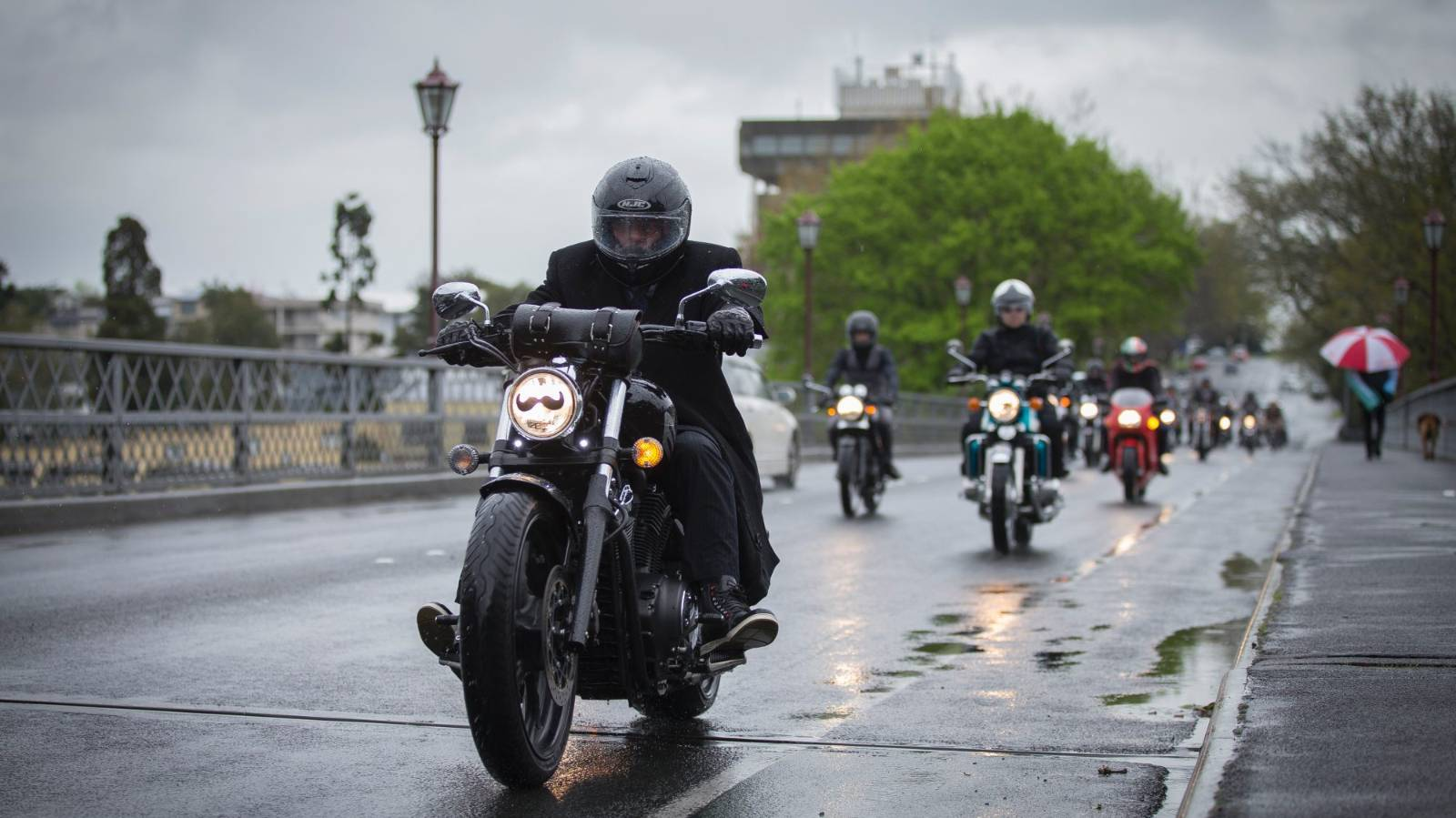 How to survive winter on a motorbike