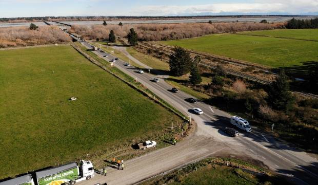 Proposed SH1 weigh station at Rakaia 'too risky for motorists'