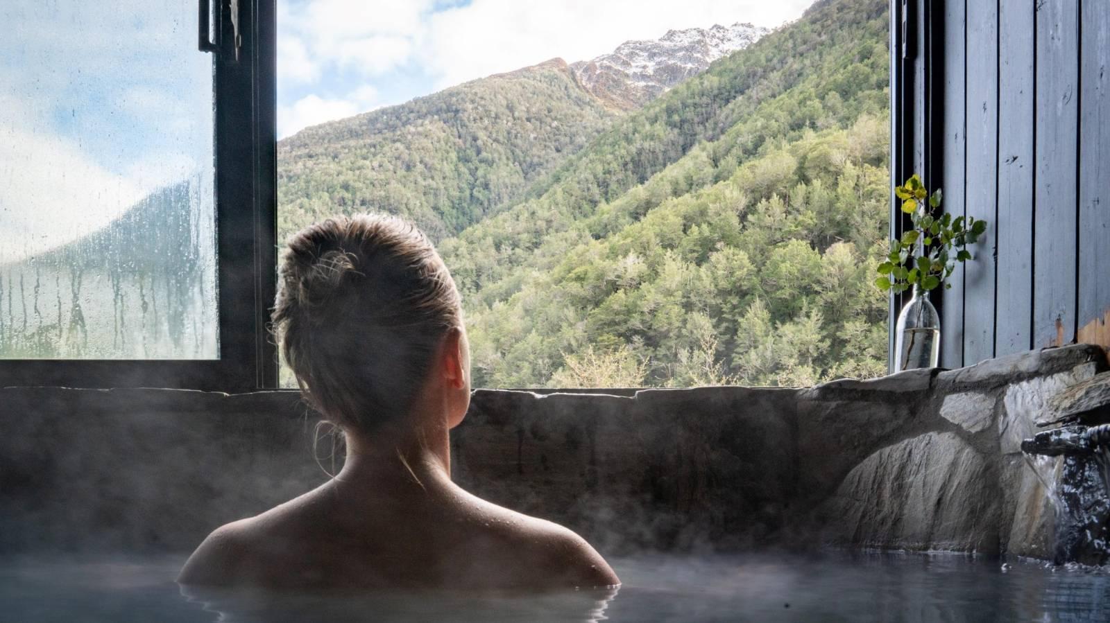 Inside NZ's hidden mountain hot springs