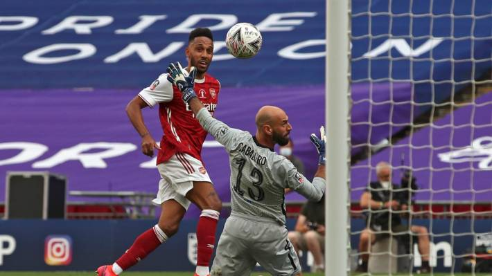 Arsenal Win Fa Cup After Captain S Double Against Chelsea At