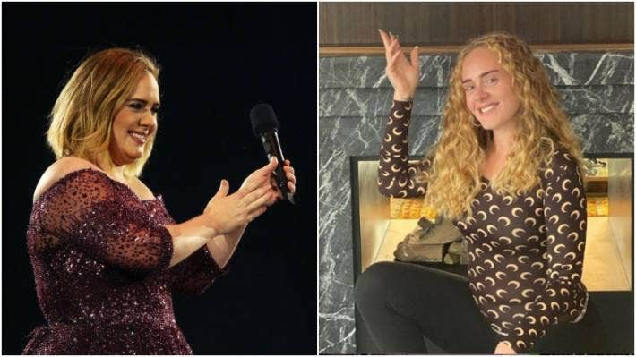 Slimmed Down Adele Looks Like A Whole Different Person In Makeup Free Pic Stuff Co Nz