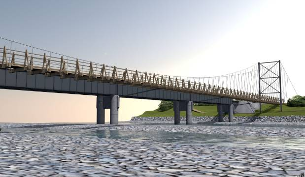 $1 million funding boost for Wairarapa suspension bridge for cyclists and walkers
