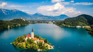 A schnapps shot of Slovenia