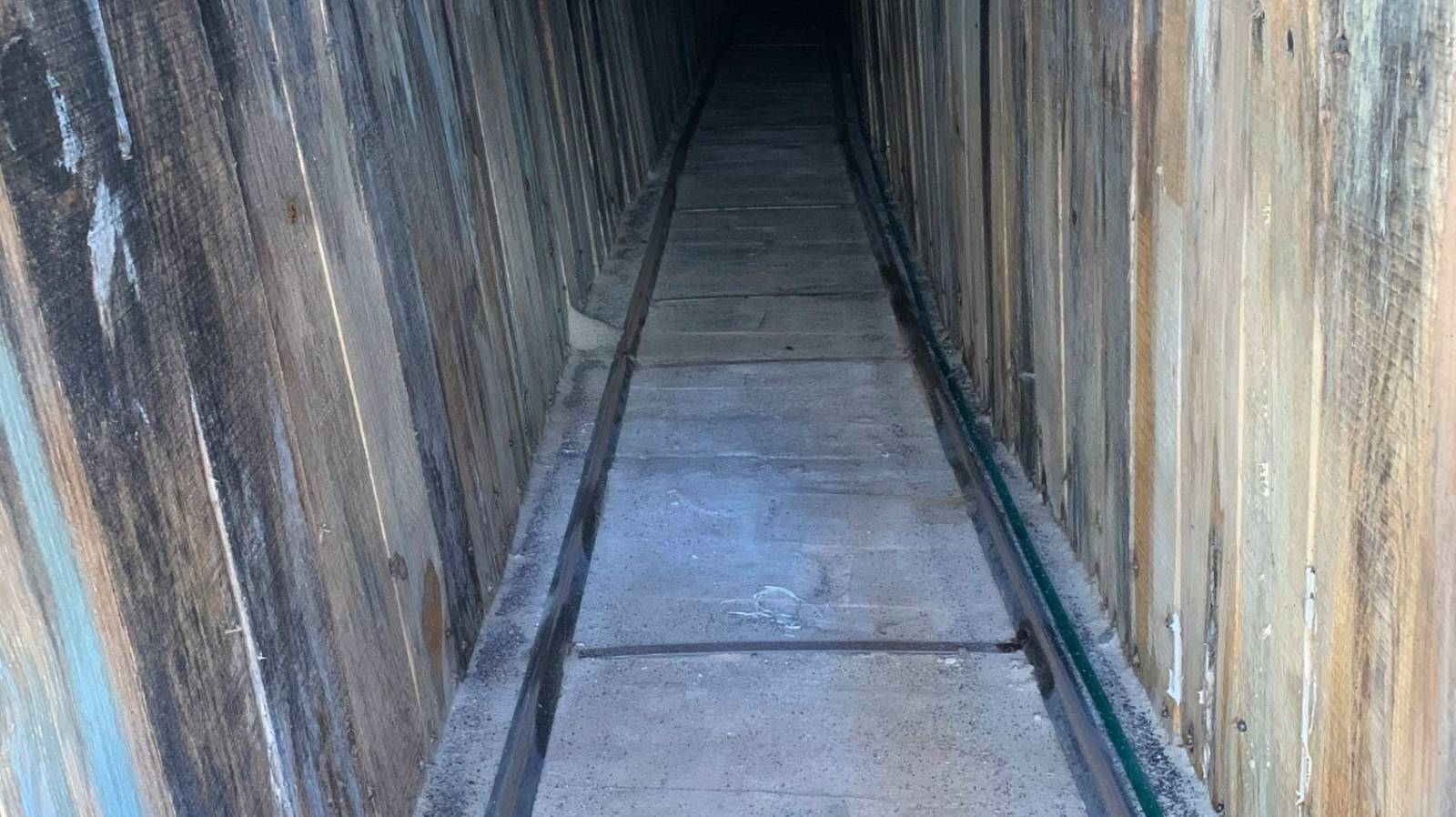 US border tunnel appears to be 'most sophisticated'