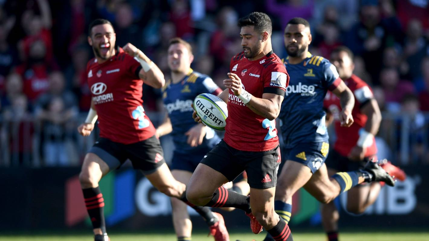 Crusaders topple Highlanders to win Super Rugby Aotearoa ...