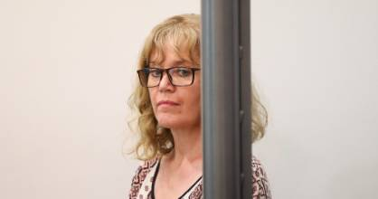 Joanne Harrison during sentencing at the Manukau District Court, Auckland, in 2017. (File photo)