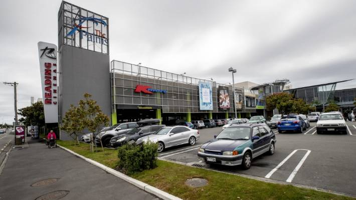The Palms Shopping Centre in Shirley, Christchurch, is one of six shopping centres in New Zealand managed by AMP Capital.