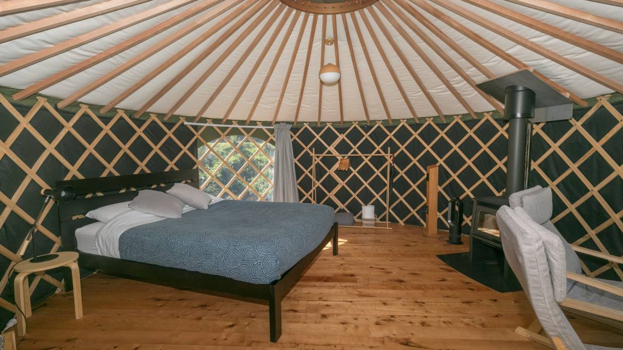 Room Review Wanaka S Oasis Yurt Lodge Offers Upmarket Camping In Natural Surrounds Stuff Co Nz