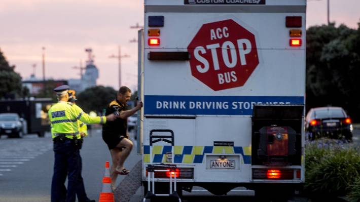 The AA is calling for roadside breath test checkpoints to increase following a downturn in recent years. (File photo)