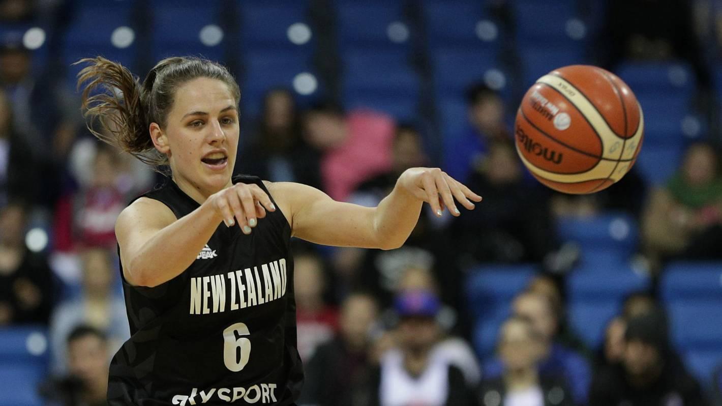 Pass! Tall Ferns basketballer Zara Jillings puts her health ahead of hoops