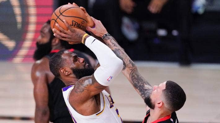 Nba La Lakers Eliminate Houston Rockets To Move On To Western Conference Finals Stuff Co Nz