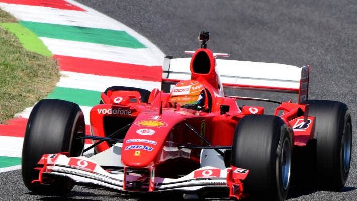 Mick Schumacher Drives Father Michael S Famous Ferrari Then Blasts To Lead In Formula Two Stuff Co Nz