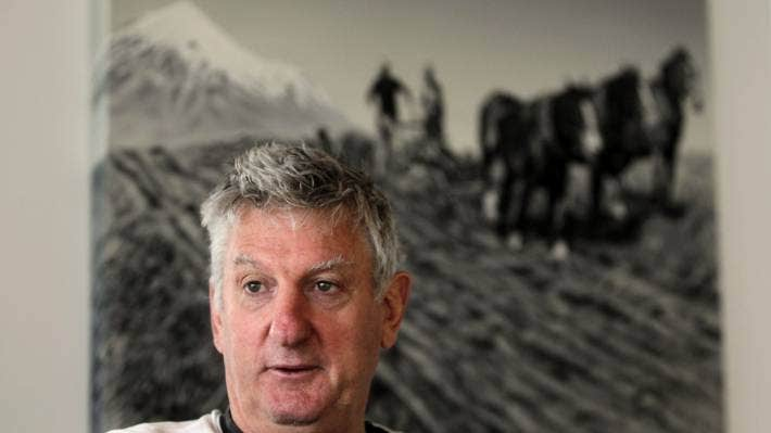Former All Blacks Captain Graham Mourie is involved in farm management planning at Southern Pastures.