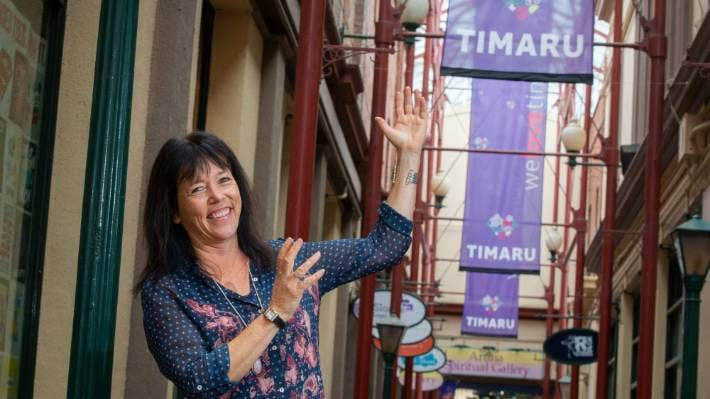 Operations manager Di Hay says Venture Timaru's staff confidence in speaking Te Reo Maori is growing.