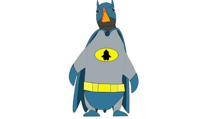 Batguin by Mark Catley.