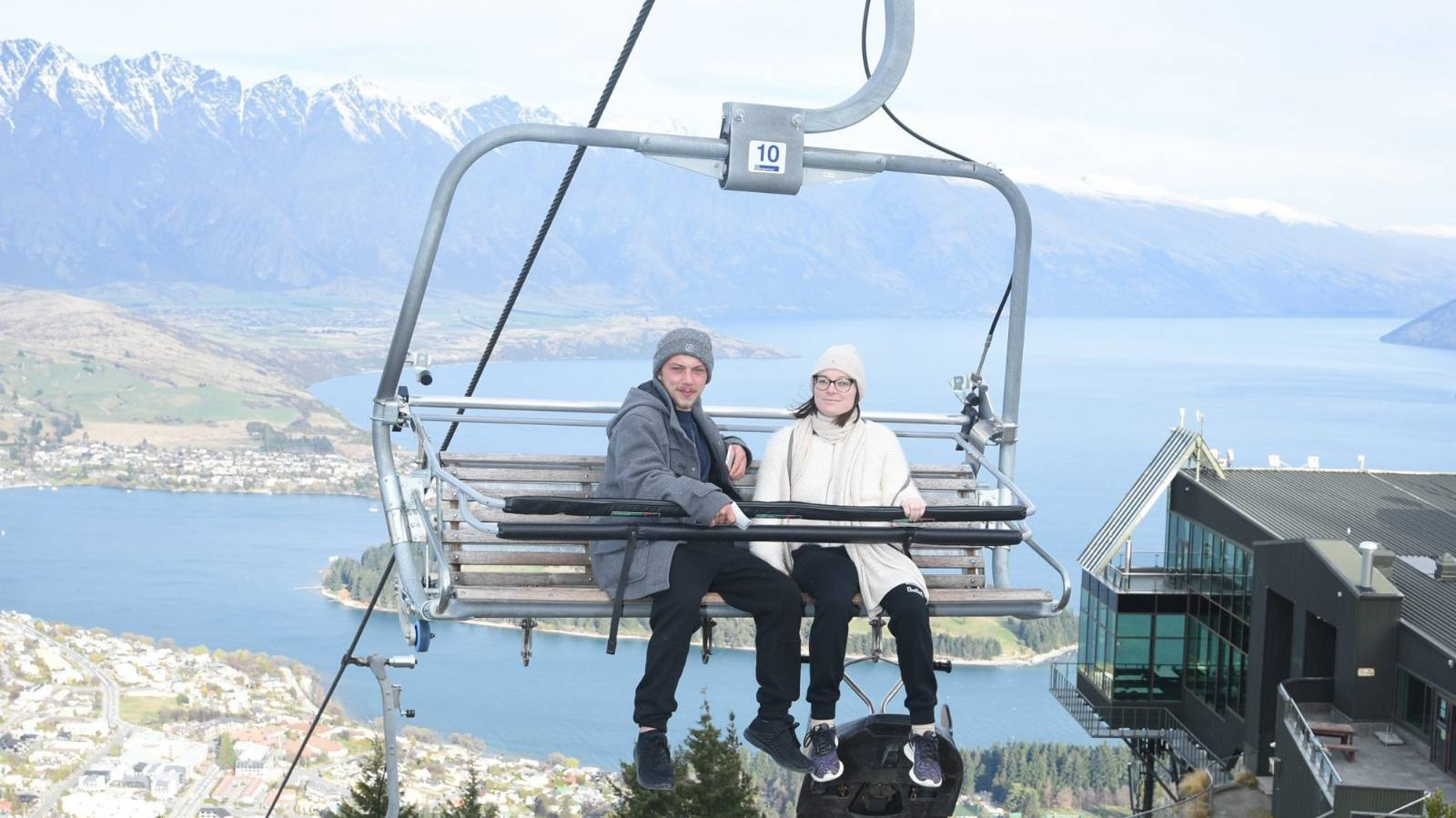 Young woman takes bucket list trip as cancer treatment fails
