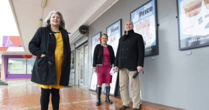 Porirua Whanau Centre chief executive Liz Kelly, left, has led a successful community campaign with help from Kitiona ...