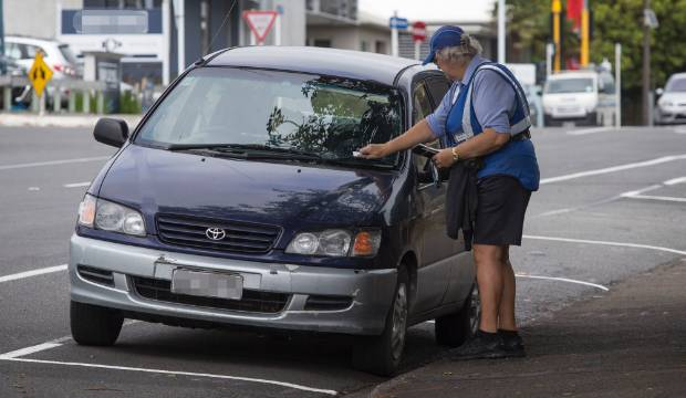 Beware the most-ticketed street in New Plymouth